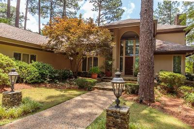 Aberdeen, Cameron, Carthage, Eagle Springs, Eastwood, Foxfire, Jackson Springs, Lakeview, Pinebluff, Pinehurst, Robbins, Seven Lakes, Southern Pines, Vass, West End, Whispering Pines, Woodlake Single Family Home For Sale: 780 SE Lake Forest Drive