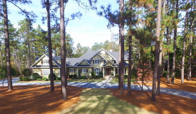 Pinehurst NC Single Family Home For Sale: $1,550,000