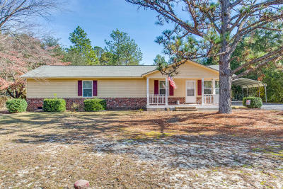 Moore County Single Family Home Active/Contingent: 325 N Cherry Street