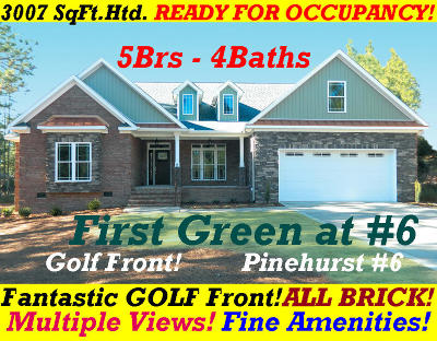 Pinehurst No. 6 Single Family Home Active/Contingent: 129 Juniper Creek Boulevard