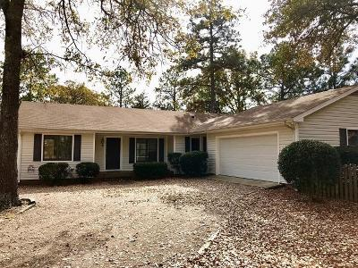 Pinehurst Single Family Home For Sale: 5 Tandem Drive
