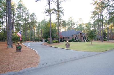 Pinehurst Single Family Home Active/Contingent: 45 Lasswade Drive