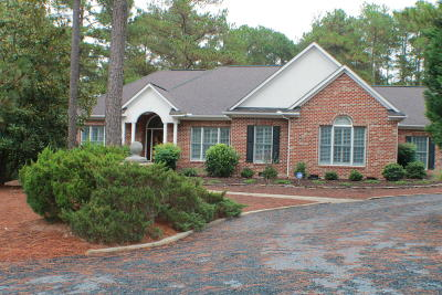 Pinehurst NC Single Family Home Active/Contingent: $350,000