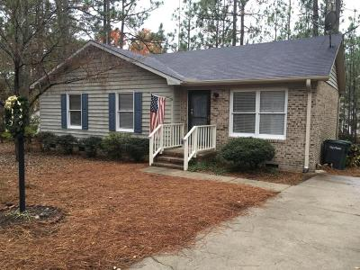 Pinehurst Single Family Home Active/Contingent: 7 Cameron Lane