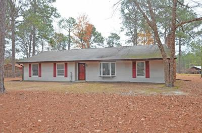 Carthage Single Family Home Active/Contingent: 132 Split Rail Road
