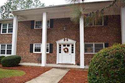 Southern Pines Condo/Townhouse For Sale: 345 Driftwood Circle #D