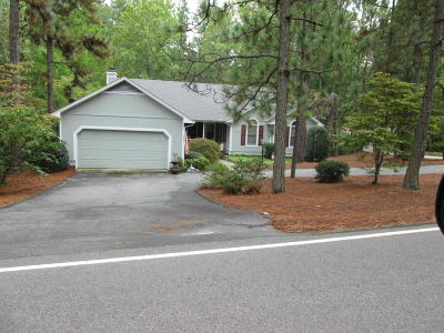 Pinehurst Rental For Rent: 1030 Monticello Drive