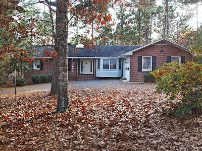 West End Single Family Home For Sale: 116 Pinecone Court