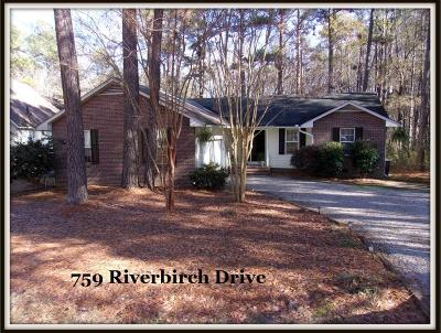 Vass Single Family Home For Sale: 759 Riverbirch Drive
