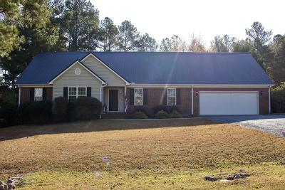 Whispering Pines Single Family Home For Sale: 50 Goldenrod Drive