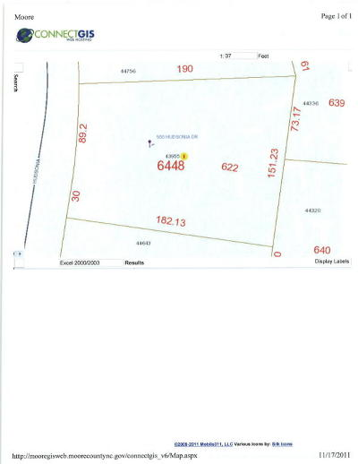 Residential Lots & Land Sold: 955 Hudsonia Drive