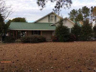 Single Family Home For Sale: 3676 Us Hwy 15- 501