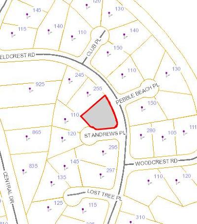 Southern Pines Residential Lots & Land Active/Contingent: Fieldcrest Road