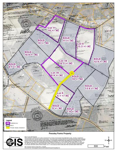 Carthage Residential Lots & Land For Sale: Lot5b Union Church Road