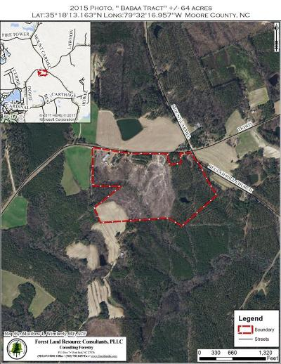 Moore County Residential Lots & Land For Sale: 4565 Dowd Road