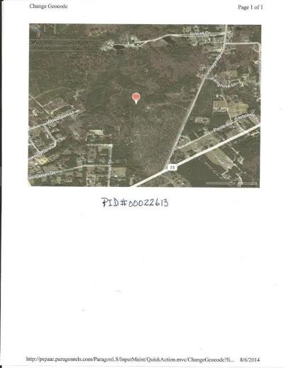 Residential Lots & Land Active/Contingent: Off Carthage Road