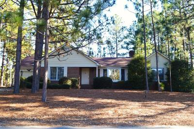 Pinehurst Single Family Home Active/Contingent: 15 Beasley Drive