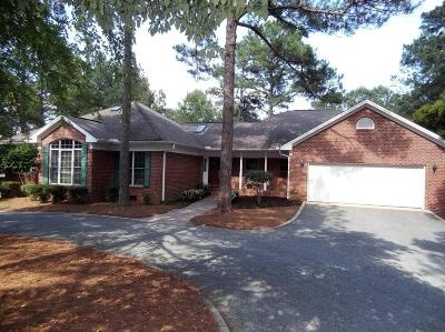 Whispering Pines Single Family Home For Sale: 14 Sunset Drive