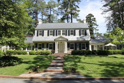 Southern Pines Single Family Home For Sale: 110 Highland