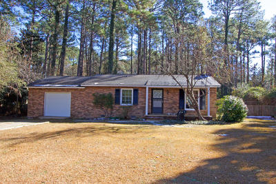 Southern Pines Single Family Home Active/Contingent: 1355 N Ridge Street