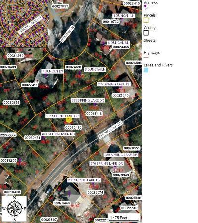 Pinehurst Residential Lots & Land For Sale: 275 Spring Lake Drive