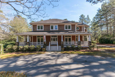 Pinehurst Single Family Home For Sale: 10 Gray Fox Run