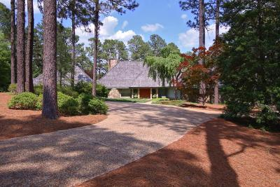 Pinehurst Single Family Home For Sale: 85 Cypress Point Drive