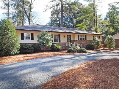 Pinehurst Single Family Home Active/Contingent: 70 St. Andrews Drive