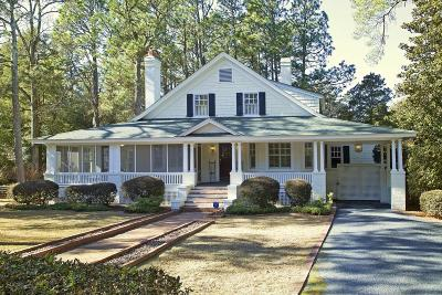 Pinehurst Single Family Home Active/Contingent: 15 NW Shaw Road