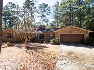 Pinehurst Single Family Home For Sale: 35 Oak Hills Road #1