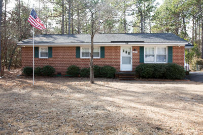Southern Pines Single Family Home For Sale: 540 W Maine Avenue
