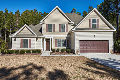 Cameron Single Family Home Active/Contingent: 185 Wooded Acre Way