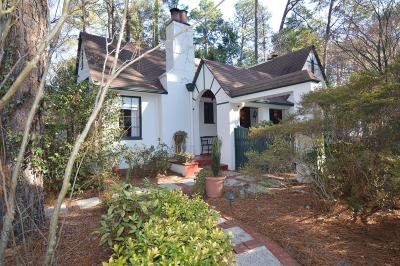Southern Pines Single Family Home For Sale: 545 E Morganton Road