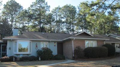 Pinehurst Condo/Townhouse Active/Contingent: 38 Garden Villa Drive