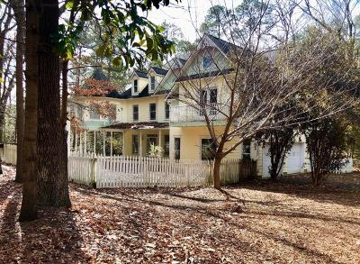 Southern Pines Single Family Home For Sale: 1275 E Indiana Avenue