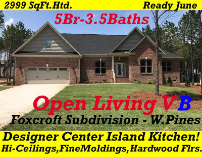 Whispering Pines Single Family Home For Sale: 250 Foxcroft Road