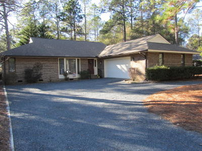 Pinehurst Single Family Home Active/Contingent: 145 St. Andrews Drive
