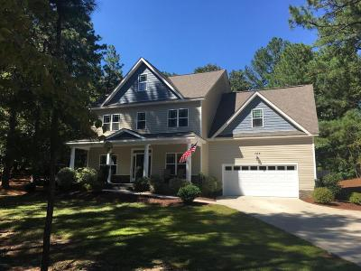 Moore County Single Family Home Active/Contingent: 105 Selkirk Trail