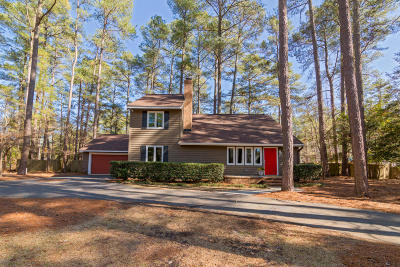 Southern Pines Single Family Home Active/Contingent: 205 Canterbury