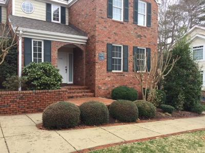 Southern Pines Condo/Townhouse For Sale: 1225 Sandmoore Drive