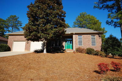 Pinehurst Single Family Home Active/Contingent: 25 Riviera Drive