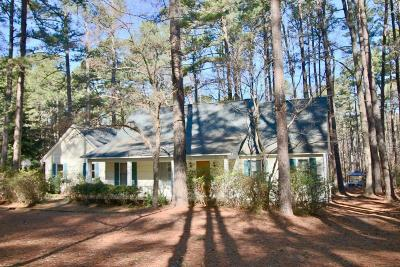 Southern Pines Single Family Home Active/Contingent: 220 Mitchell Road