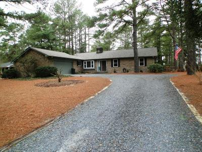 Whispering Pines Single Family Home For Sale: 181 Pine Ridge Drive