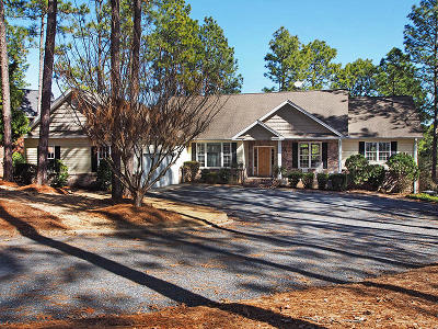Moore County Single Family Home Active/Contingent: 138 Banbridge Drive
