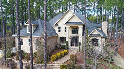 Southern Pines Single Family Home Active/Contingent: 135 Eagle Point Lane