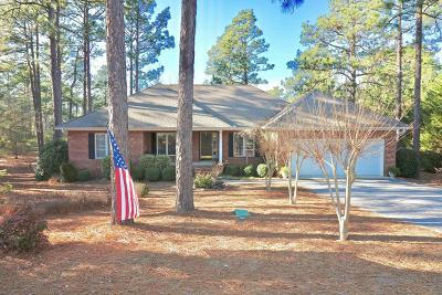 Pinehurst Single Family Home Active/Contingent: 9 Peachtree Lane