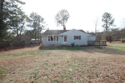 Carthage Single Family Home Active/Contingent: 136 Branch Road