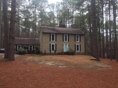 Southern Pines Single Family Home Active/Contingent: 104 James Creek Road