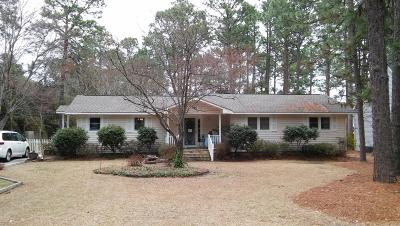 Southern Pines Single Family Home For Sale: 425 E Ohio Avenue