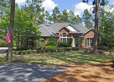 Moore County Single Family Home Active/Contingent: 50 Pinewild Drive